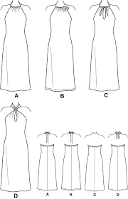 Halter Dress Pattern