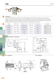 p30 pressure switches catalogue gb ranco pdf catalogue p30 pressure switches catalogue gb 1 1 pages