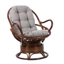 <b>Кресло</b>-<b>качалка Swivel Rocker</b> с подушкой коньяк — купить по ...