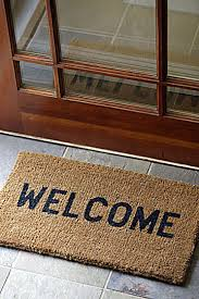 open door welcome mat. Open Door Welcome Mat I
