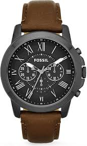17 best ideas about fossil watches for men mens fossil fs4885 grant leather watch for men