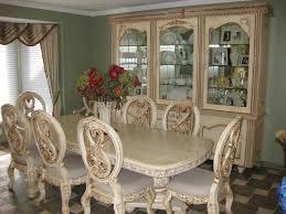 emejing antique white dining room furniture images liltigertoo for sets designs 19