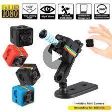 SQ11 PRO Mini Camera Sence DVR Xe Ô Tô Thông Minh An Ninh Tại Nhà Máy Quay  Nhỏ Camara Espia Camera Bí Mật Hỗ Trợ Hiden TFcard Mini Camcorders