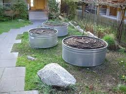 round raised garden beds metal planters galvanized raised beds contemporary landscape raised bed garden soil home
