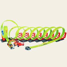 Детский <b>пусковой трек Track Racing</b> длина трека 650 см - 68807 ...