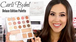 carli bybel deluxe edition palette review swatches makeup tutorial