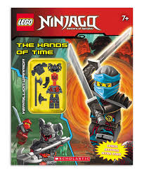 LEGO Ninjago The Activity Book & Minifigure | Products | Lego ninjago, Book  activities, Books