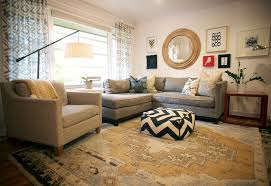 mgbwhome eclectic living room also cozy modern persian rug picture collage pouff ottoman round mirror sectional sofa small living room transitional white