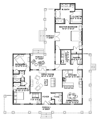 Small Picture 50 Floor Plans For Homes With Wrap Around Porch One Story Country