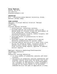 Best Simple Resume Template Sample Resume Cover Letter Format