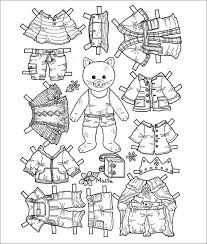 Then grab your pencils, markers, crayons and others supplies, and start decorating. Paper Dolls Free Premium Templates