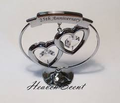 25th silver wedding anniversary gift ideas with swarovski crystals within 60th wedding anniversary gift ideas canada romantic 60th wedding anniversary gift