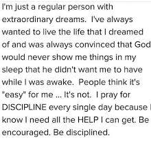 I Have A Extraordinary Dream
