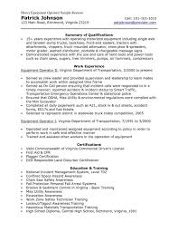 Plant And System Operators Manufacturing And Production Resume