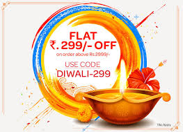 flat rs 299 off on above over rs 2999 use code