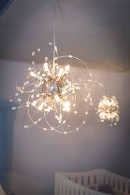 creative chandelier mobile baby room chandelier for nursery design ideas decors
