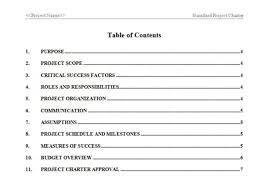 project charter sample provide a project charter template in word format by atwood23