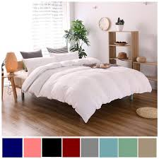 2019 cotton bedding sets pillowcase home hotel bedding super soft wedding gift white duvet cover twin queen king size 2 no sheet from raymonu