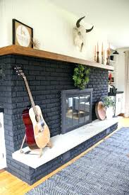 painted gray fireplace fireplace brick colors our black painted fireplace red brick fireplace paint colors painted