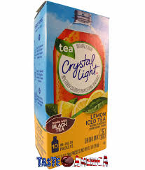 Details About Crystal Light Lemon Iced Tea On The Go Drink Mix 10 Sachets 19 8g