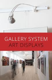 with just three simple components gallery system art hanging systems let you focus on the aesthetics of hanging not the logistics