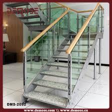 Office Stairs Indoor Office U Shape Glass Steel Stair Staircase Buy U Shape