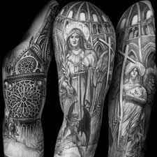соборы на тату дизайнах для мужчин Archideacomua