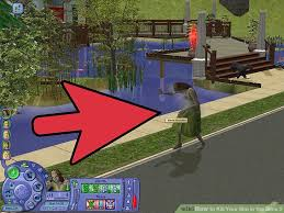 sims 2 backyard ideas. image titled kill your sim in the sims 2 step 3 backyard ideas i