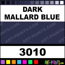 Dark Mallard Blue Milk Paint Casein Milk Paints 3010