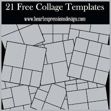 Puzzle Photo Collage Template Download Psd Free Photoshop Making