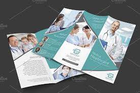 Medical Brochure Template New Medical Trifold Brochure Brochure Templates Creative Market