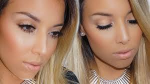 neutral glam makeup tutorial