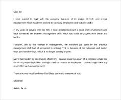 formal resignation letter      download free documents in word  pdfprofessional formal resignation letter