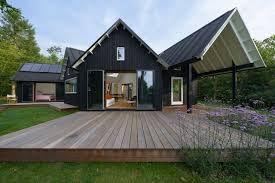 Low Pitch Roof Design Danish Pitched Roof Summer House By Powerhouse Company