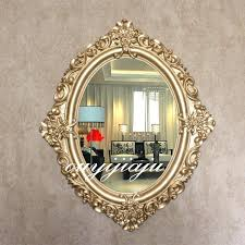 oval mirror frame. Antique Oval Mirror Frame