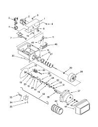 Kenmore model 10659702990 side by side refrigerator genuine parts model kenmore diagram refrigerator 10659702990 27