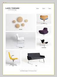 best furniture websites design. Lars Tornøe Contemporary Furniture Website With Grid Layout Best Furniture Websites Design A