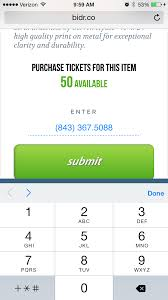 how do i easily sell a raffle ticket to a friend family member or click submit and your friend will receive a text prompting them to specify the amount of tickets they would like to purchase and be prompted to enter their