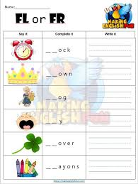 Order hard copies of our phonics. Consonant Blends Scramble Worksheets Editable Making English Fun