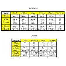 Javelin Container Sizing Chart Dj Safety 011209 Racing Firesuit Jacket Single Layer Sfi 3 2a 1
