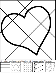 Small Picture Interactive coloring sheets for Valentines Day from Art with