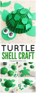 Seashell Turtle Craft - Seashell Craft Ideas