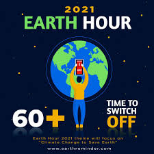 Earth hour 2021 Day and Theme in 2021 | Earth hour, Earth hour day, Earth