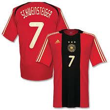 Soccercorner Schweinsteiger 69 Adidas 99 7 Germany - Red Replica dark gold Jersey Away com black '08