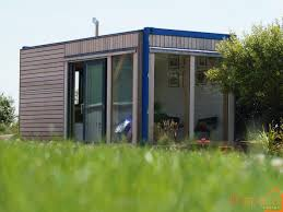 shipping container office building. A Shipping Container Hidden Under Larch Cladding And An Oak Frame To Create Moveable Office Building