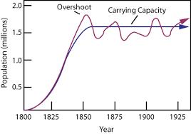 Biology Graphs Carrying Capacity
