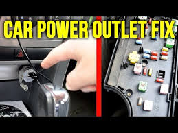 2013 Dodge Avenger Fuse Chart How To Fix The Power Outlet Or Cigarette Lighter In Your Car 2008 Dodge Avenger