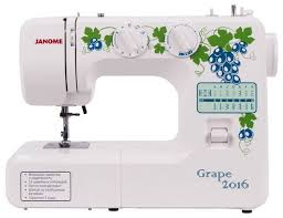 Отзывы Janome <b>Grape</b> 2016 | <b>Швейные машины Janome</b> ...