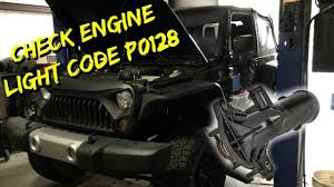 2016 Jeep Wrangler Check Engine Light Codes 2012 2016 Jeep Wrangler Cherokee Thermostat Replace P0128 Code