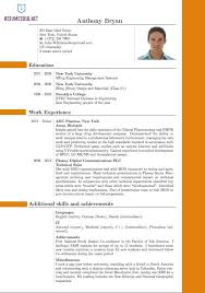 Which Resume Format Is Best Enchanting Good Resume Templates 28 Best New Resume Format Onwebioinnovateco